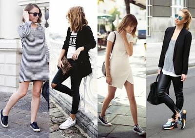 Las zapatillas o sneakers están de moda