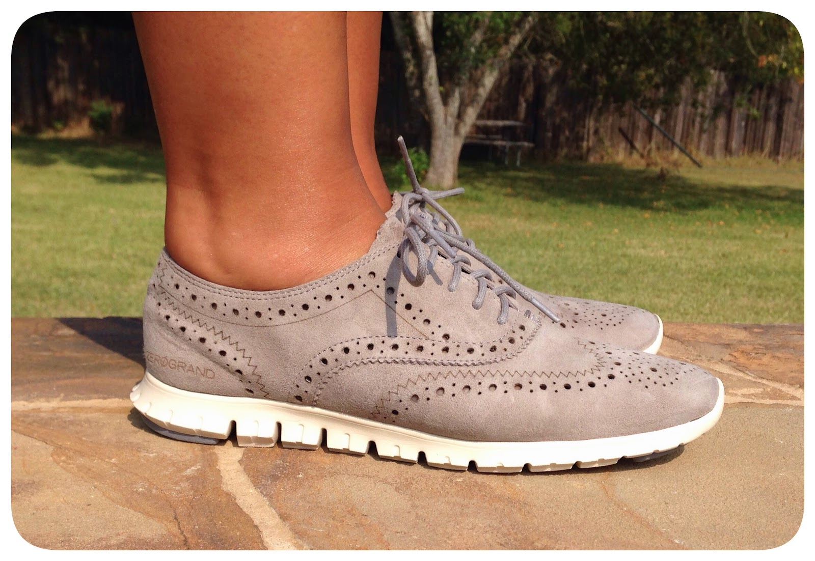 Shoes Day Cole Haan Zerogrand Perforated Oxford Life Is