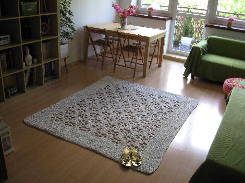Latające Dywany Dywan W Kwiatki Do Salonu