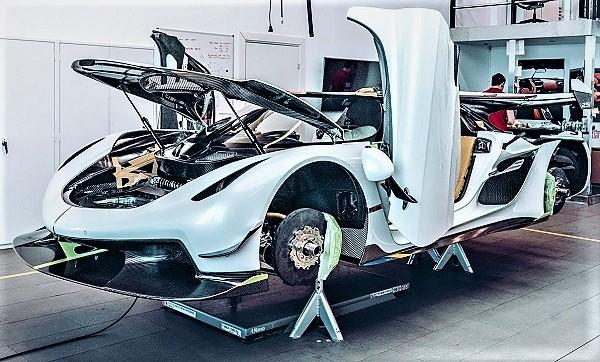 Así se fabrica Koenigsegg Jesko