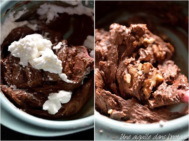Brownie sarrasin et noix (sans gluten)