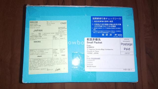 Paczka z Japonii > Japan Snacks