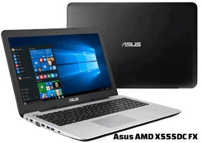 harga laptop asus amd x555dg fx