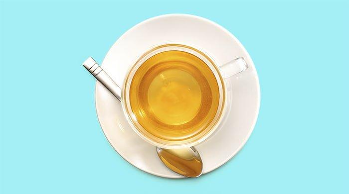 Cool, sugarless tea