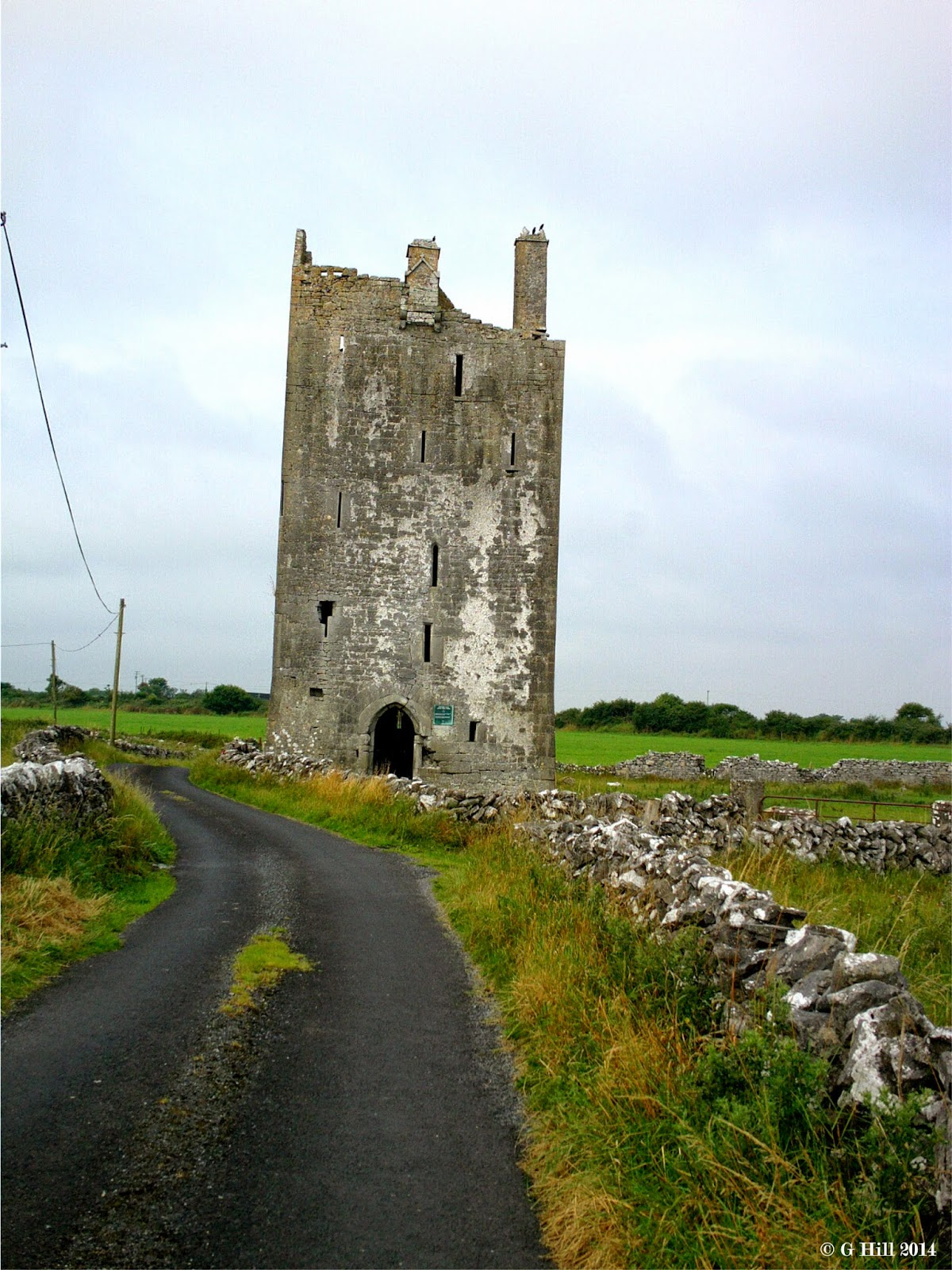 Ireland In Ruins Drumharsna Castle Co Galway