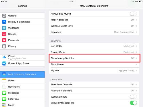 Thủ thuật loại bỏ những tính năng không cần thiết trong iOS 8