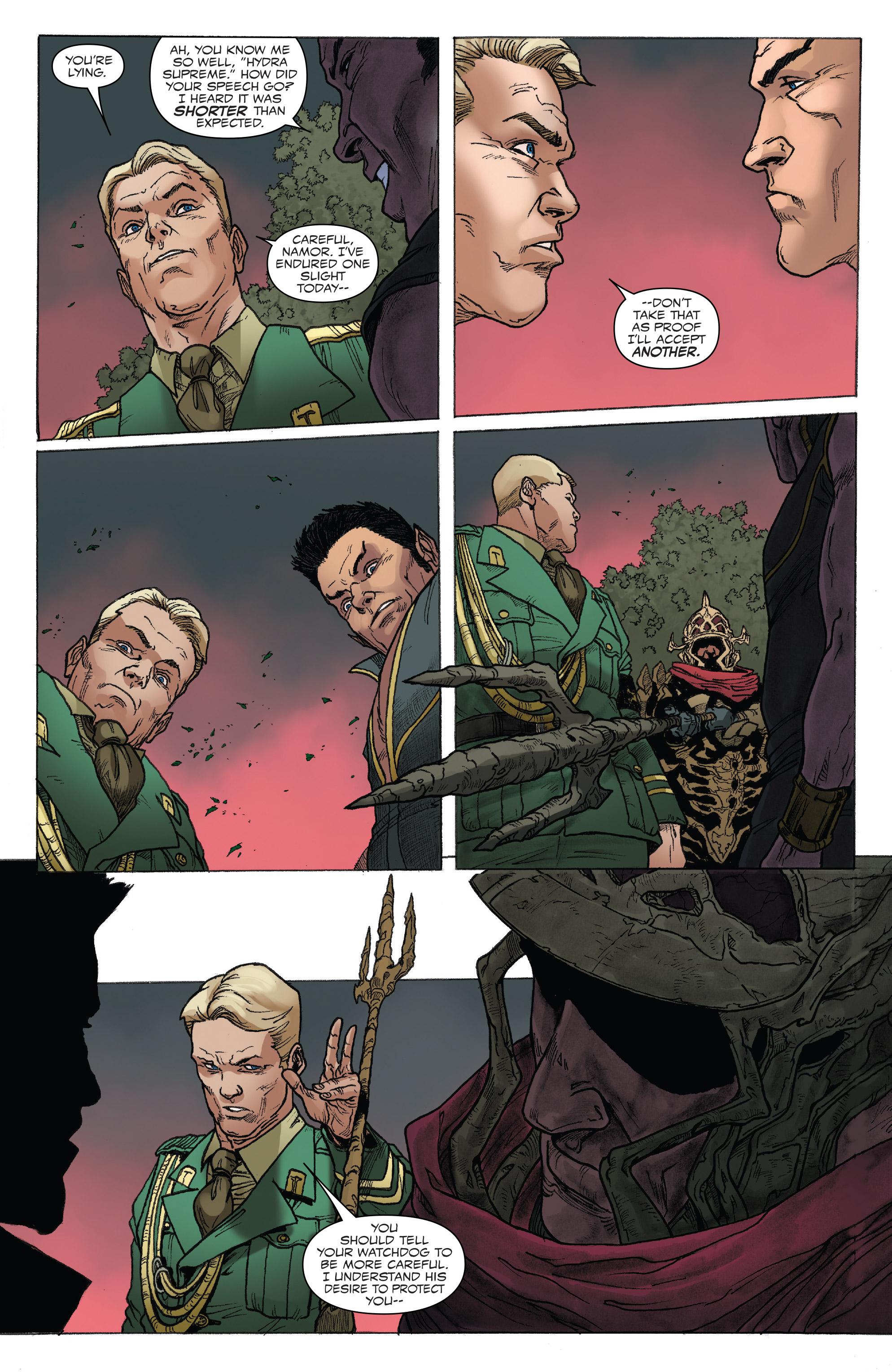 Read online Captain America: Steve Rogers comic -  Issue #18 - 21
