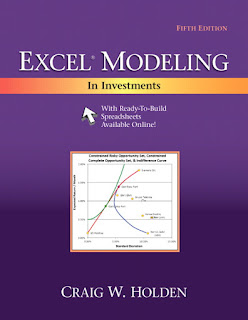 Excel Modeling in Investments