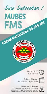 APRILIANSYAH | PLT. Ketua Umum FMS Ajak Anggota Sukseskan Mubes FMS 2018