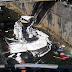 3 Maut, Honda HRV Terbabas Dalam Longkang