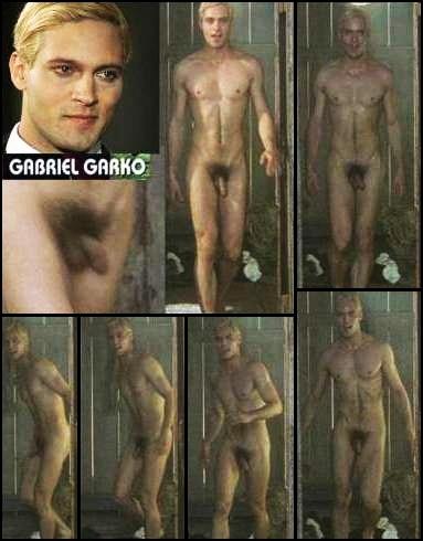 nude blonde men