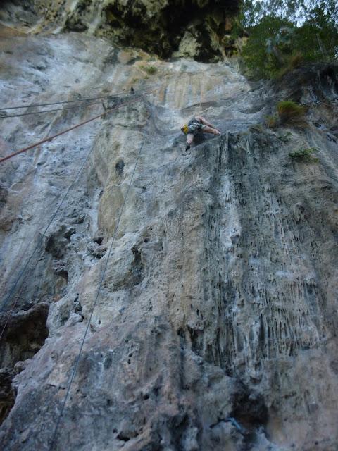 climbing railay thailand