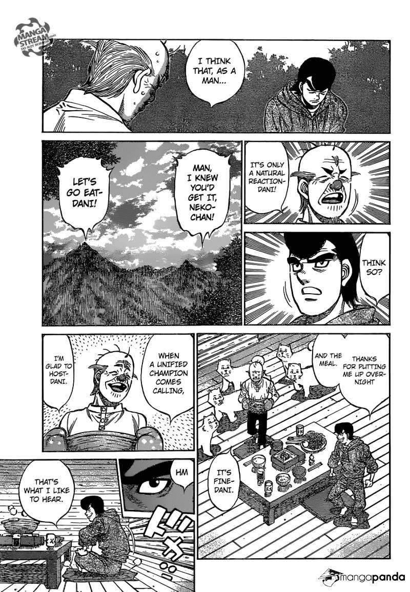 Hajime no Ippo - Chapter 1126