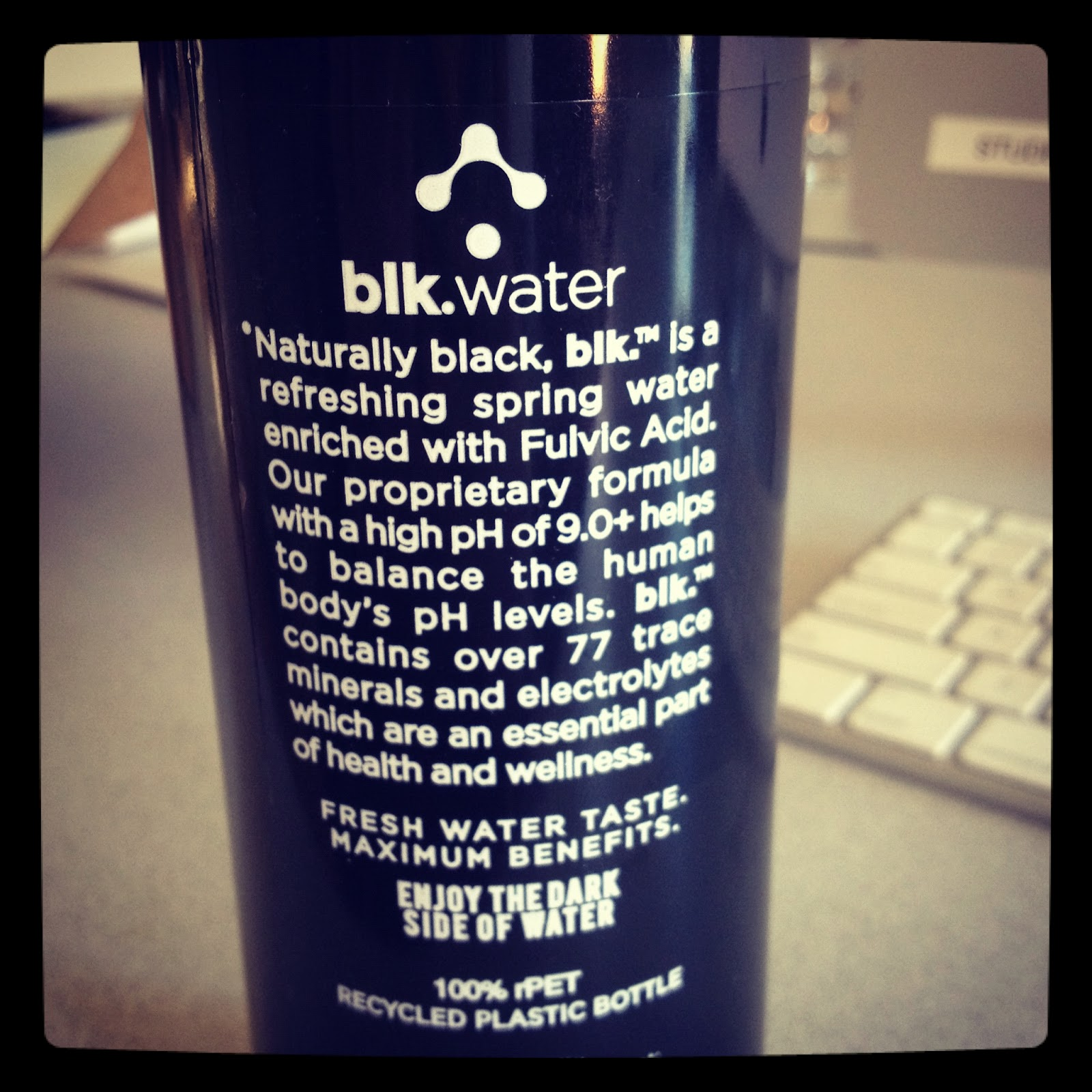 Is Blk Water Naturally Black
