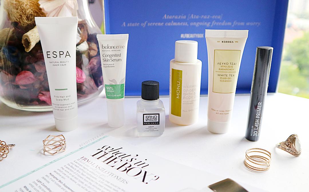 Look Fantastic January Beauty Box Unboxing