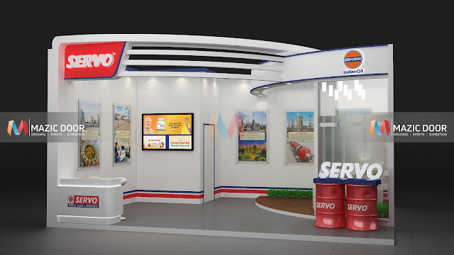 Mazicdoor Indian Oil Stall Design 03