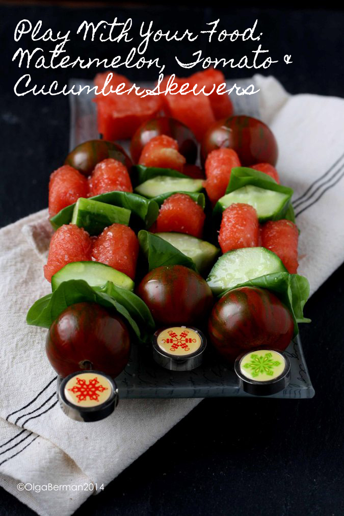 Play Your Card Right On Pinterest: Mango & Tomato: Play With Your Food: Watermelon, Tomato
