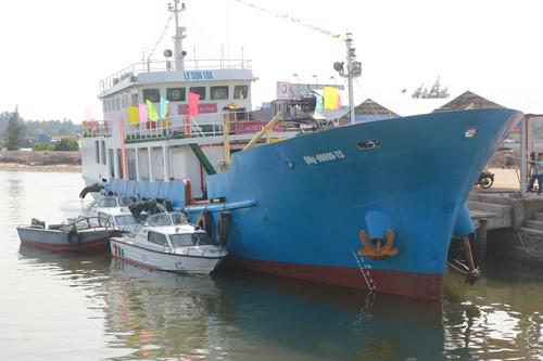 Bàn giao tàu dịch vụ hậu cần nghề cá Lý Sơn 168 - Hình 3