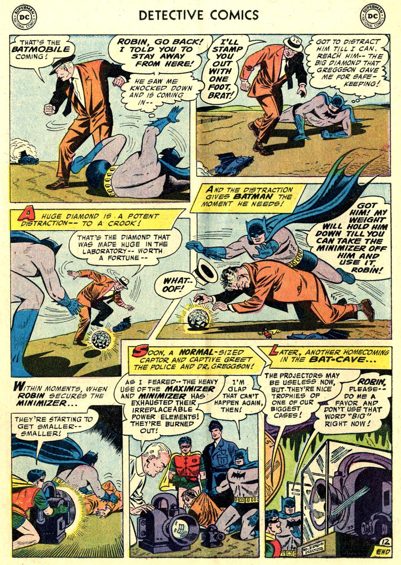 Read online Detective Comics (1937) comic -  Issue #243 - 14