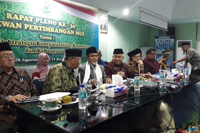Jadi Cawapres Jokowi, Ma'ruf Belum Mundur dari MUI, Hanya Nonaktif