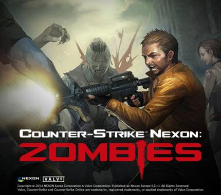 لعبة كاونتر سترايك الزومبي Counter Strike Nexon Zombies