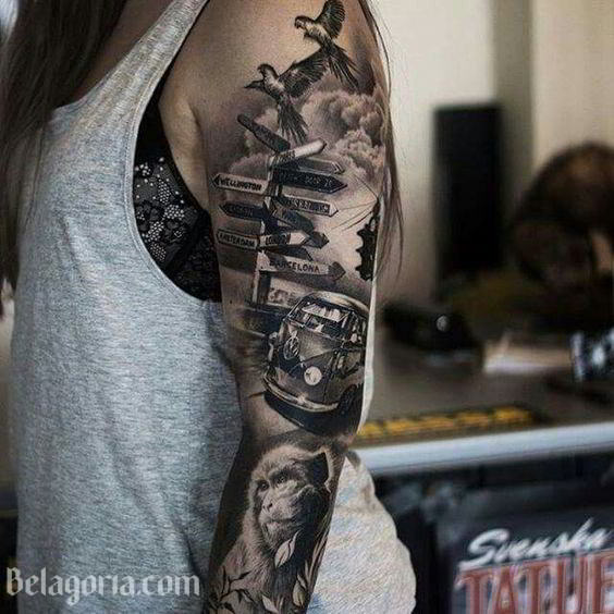 Tatuajes Hawaianos Para Mujeres 5 Temas Y Su Fascinante Significado