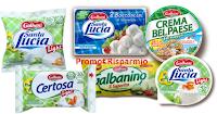 Logo Galbani: risparmia con i buoni sconto Santa Lucia, Certosa, Galbanino e Bel Paese