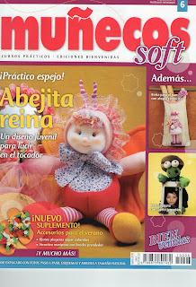Muñecos Soft Nro.6  –  Abejita Reina