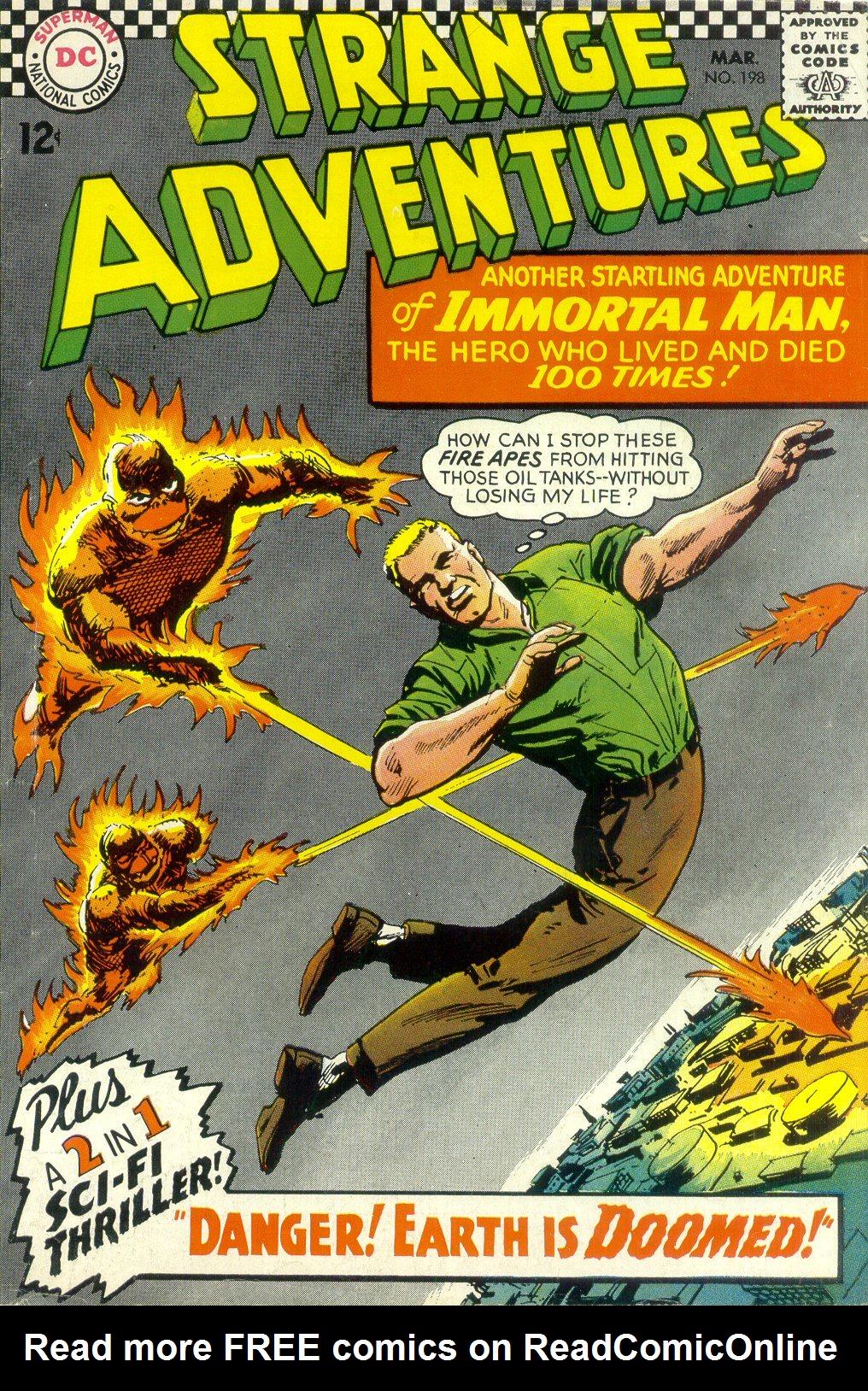 Strange Adventures (1950) issue 198 - Page 1
