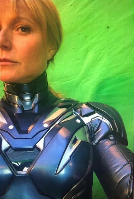 AVENGERS 4 Set Selfie Leaked - First look at Pepper Potts' Rescue armor