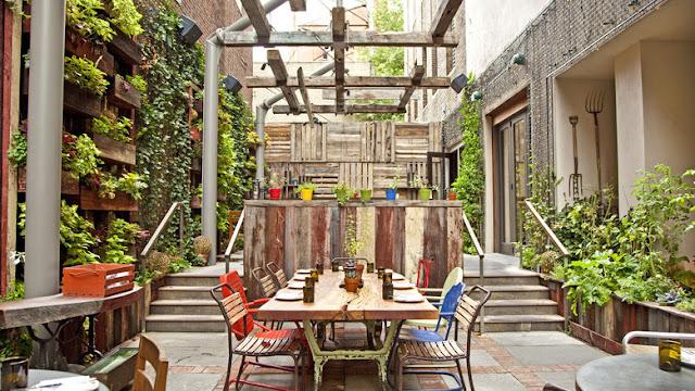 Restaurante Talula's Garden