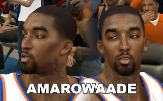 NBA 2K13 Mods - J.R. Smith Cyber Face Patch