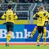 Dortmund faz mais uma vítima e abre vantagem na ponta; Bayern goleia e Frankfurt bate o Leverkusen