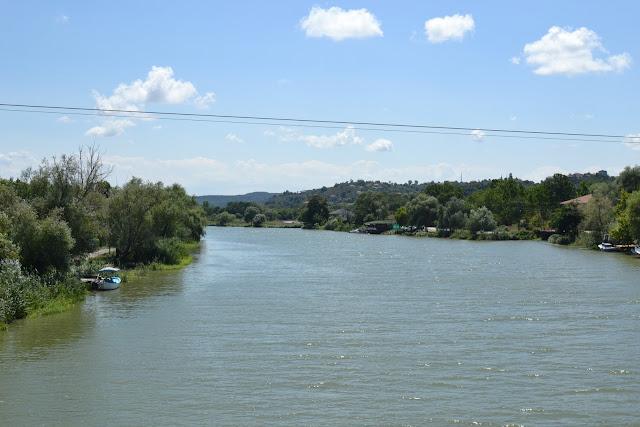 Sakarya Nehri, Karadeniz'e dökülmeden hemen önce.