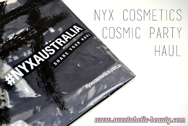 NYX Cosmetics Cosmic Party Haul - Sweetaholic Beauty