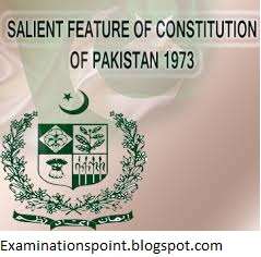 The constitution of 1973 - Examinations Point