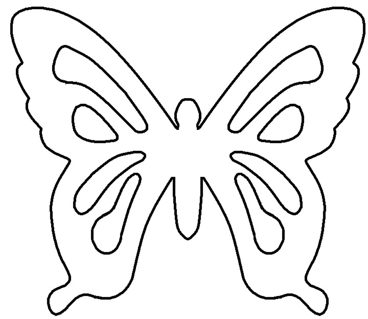 Gladness Of Heart Diy White Chocolate Butterfly Pattern