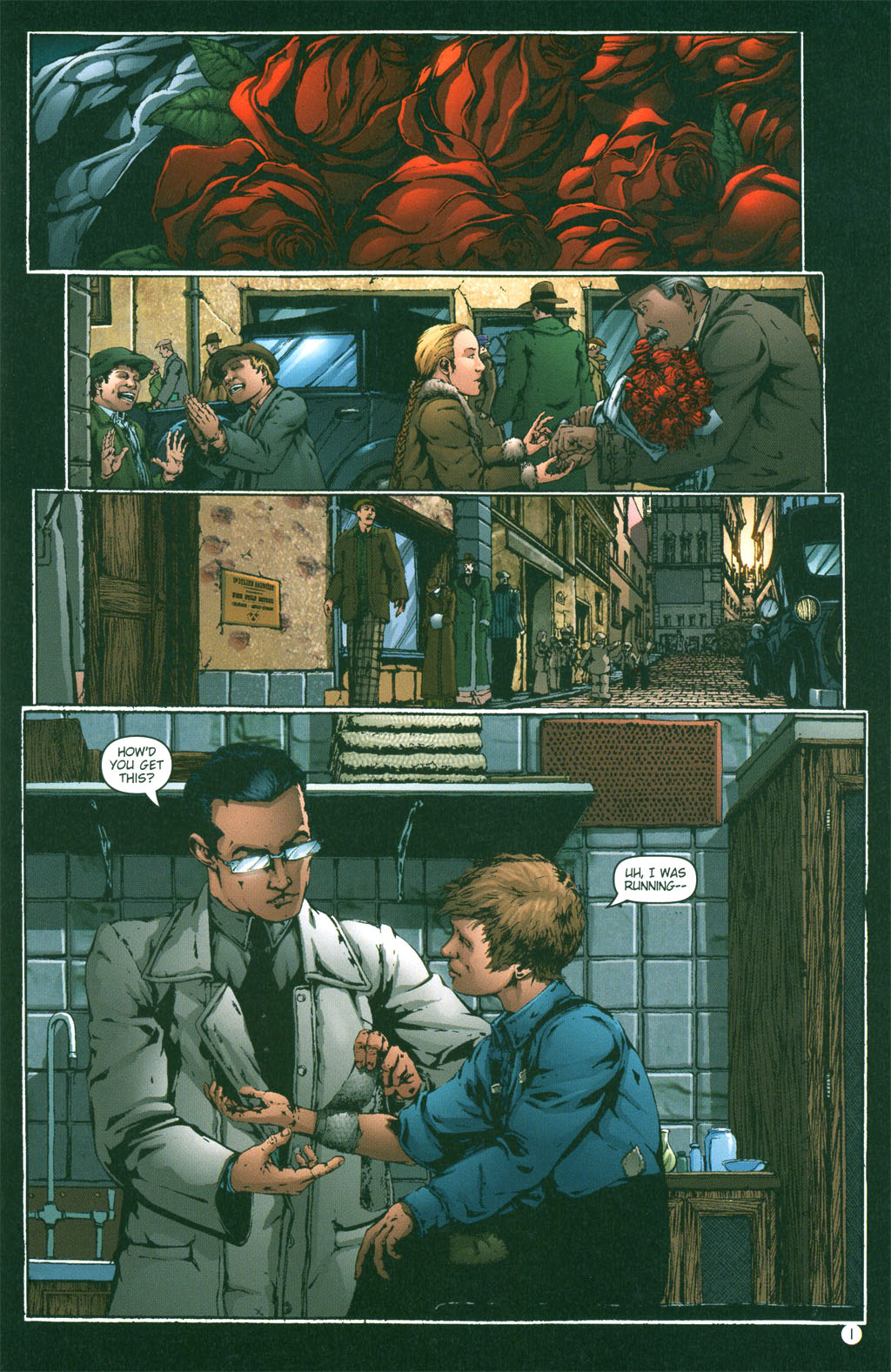 Read online Rex Mundi comic -  Issue #2 - 3