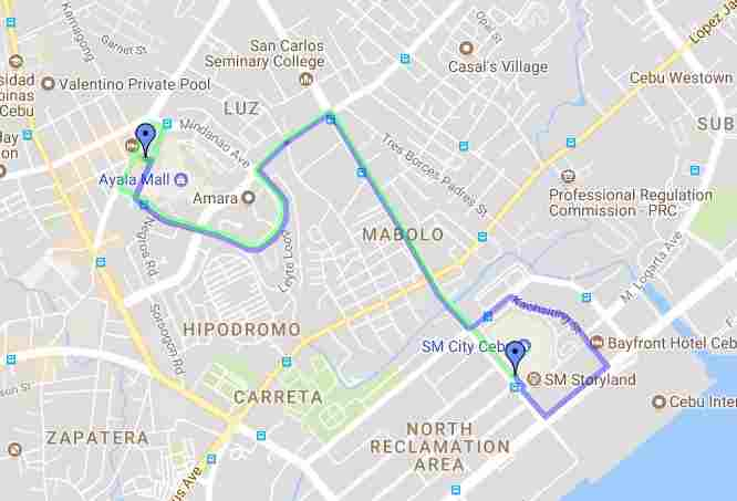 Ride a Jeepney in Cebu and its Travel Routes Code 03q Destination Ayala Sm Juan Luna Map Best of Philippines 2018