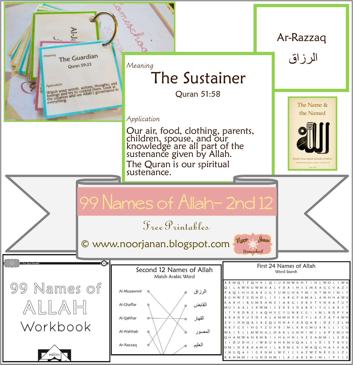Noor Janan Homeschool: The Name and The Named- 2nd 12
