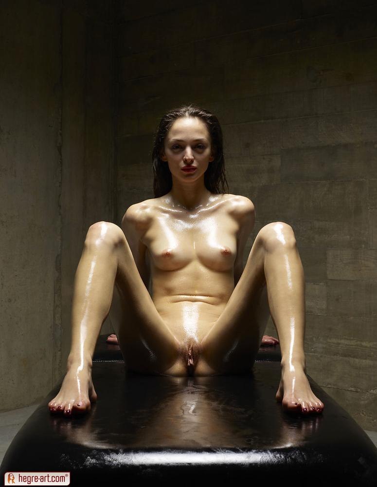 Hegre-Art - Mirabell - Sado Cellar (Oiled up in cellar) 1