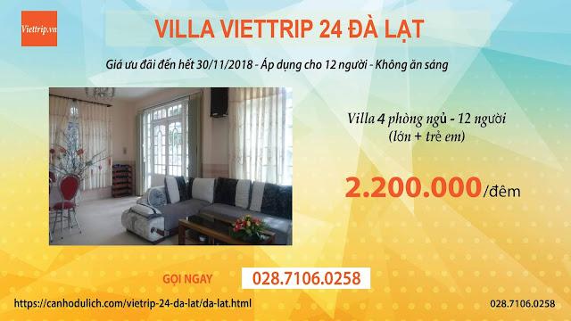 Tận hưởng chuyến du lịch tại Viettrip 24 Đà lạt