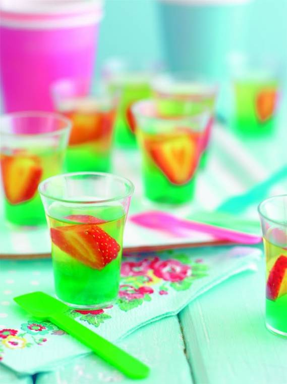 Mini Rainbow Jellies: Great For Children's Birthday Party