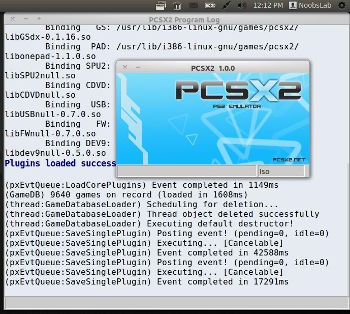 Install PS2 Emulator in Ubuntu 12 10/12 04/Linux Mint 14/13