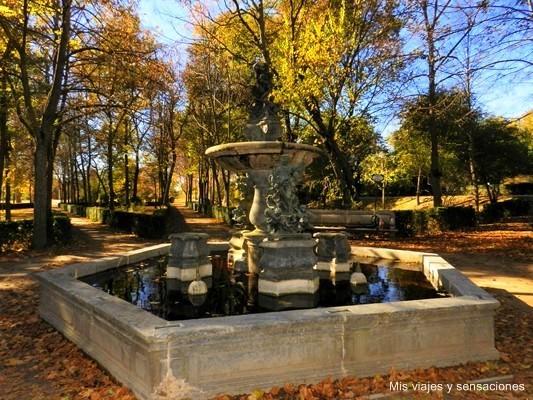 Fuente de Neptuno, Jardín de la Isla, Aranjuez