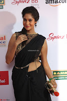 Sindhu looks fabulous in Black Saree designer choli at Mirchi Music Awards South 2017 ~  Exclusive Celebrities Galleries 004.JPG