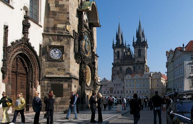 Primeiro dia de roteiro em Praga