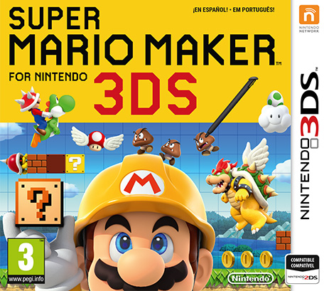 descargar Super Mario Maker gratis para nintendo 3ds 1 link version cia portable mf mediafire