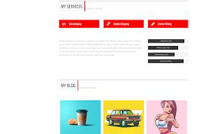 Mẫu template đa tính năng và miễn phí cho blogspot