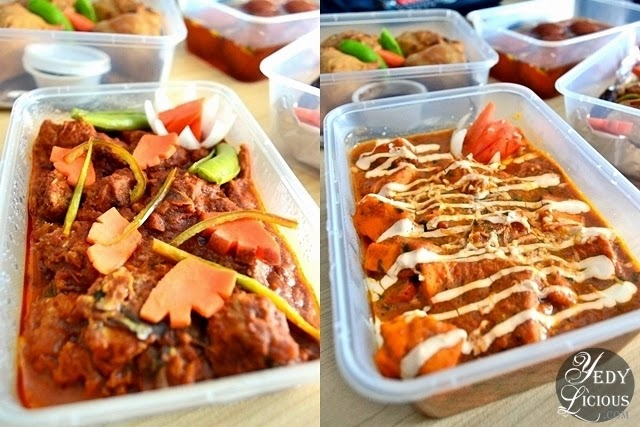 Vegetable Chicken Curry and Butter Panner at Green Dot Vegetarian Catering and Food Delivery Service Manila